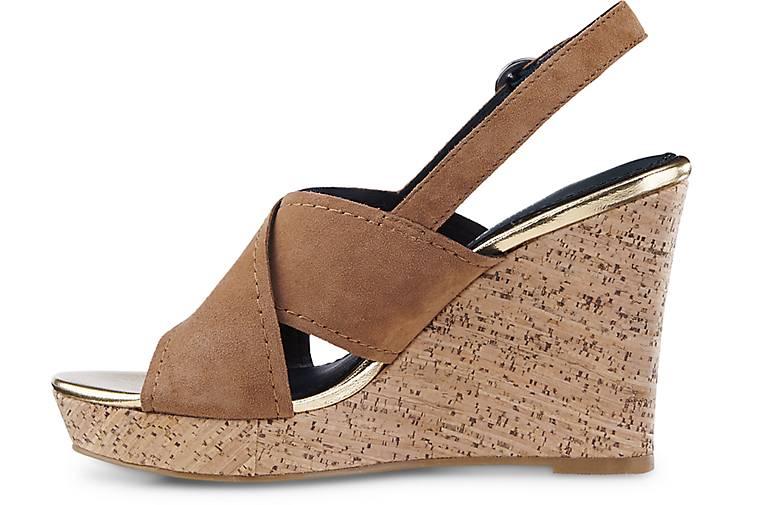 tommy hilfiger sandalette edel 6b keil sandaletten braun mittel g rtz. Black Bedroom Furniture Sets. Home Design Ideas