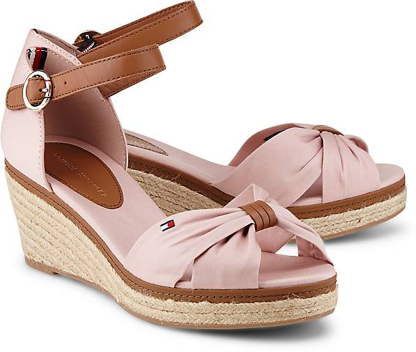 tommy hilfiger sandalette elba 40d espadrilles rosa. Black Bedroom Furniture Sets. Home Design Ideas