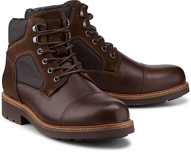 Tommy GÖRTZ Hilfiger Schnür-Boots in braun-dunkel kaufen - 47596101 | GÖRTZ Tommy Gute Qualität beliebte Schuhe caa5e8