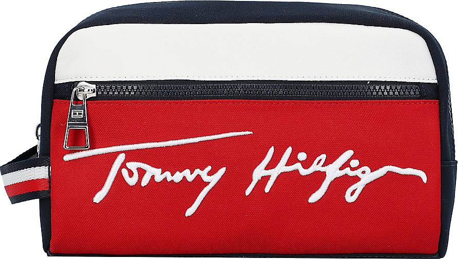 Tommy Hilfiger Signature Kulturbeutel 24 cm