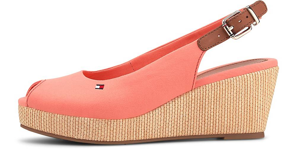 Tommy Hilfiger Sling-Wedges ICONIC ELBA