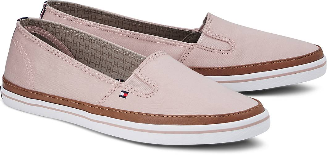 tommy hilfiger slip on kesha 7d slip ons rosa g rtz. Black Bedroom Furniture Sets. Home Design Ideas