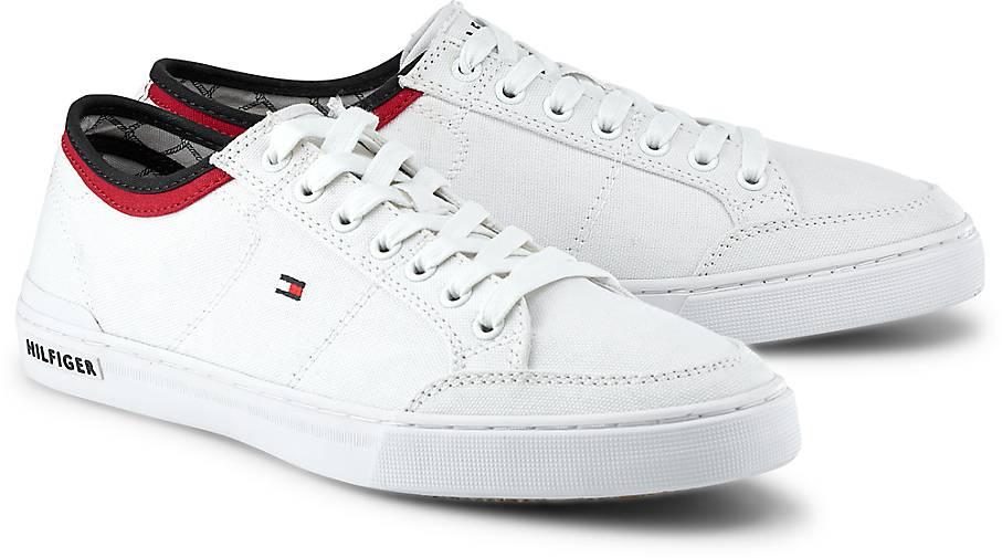tommy hilfiger – sneaker harrington 5d – freizeit-schuhe – weiß. Bild  herunterladen 907 X 505