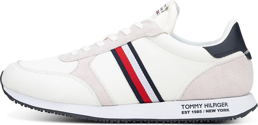 Tommy Hilfiger Sneaker RUNNER LO LEATHER STRIPES