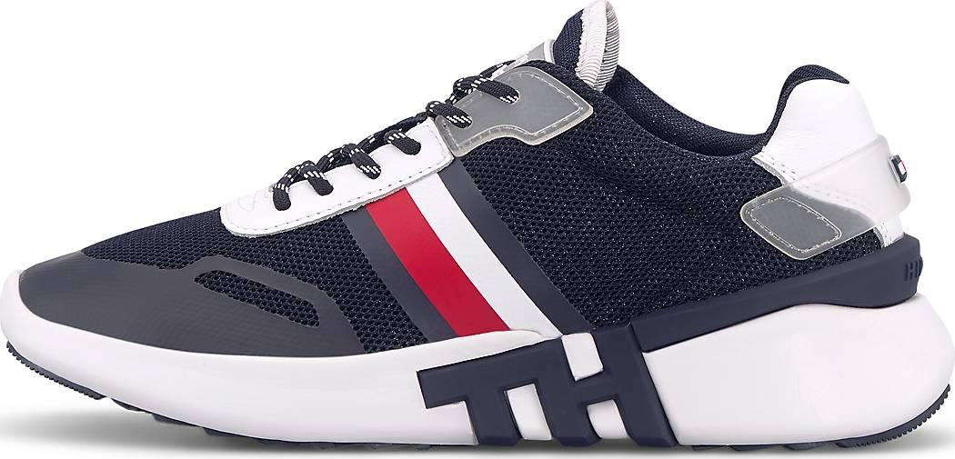 Neu! Original Tommy Jeans Hilfiger Leder Sneaker Sport Schuhe Gr.36,5 37