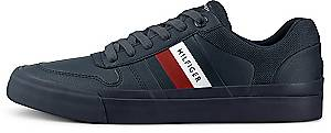 Tommy Hilfiger, Snekaer Core Corporate Modern in dunkelblau, Sneaker für Herren