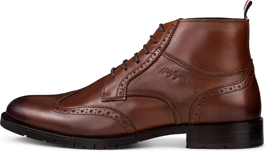 Tommy Hilfiger Stiefel BROGUE LEATHER LACE UP BOOT
