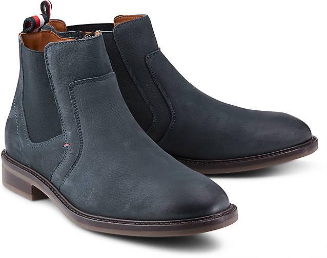 Tommy Hilfiger Stiefel ROUNDER - 2N in blau-dunkel kaufen - ROUNDER 46586301 | GÖRTZ Gute Qualität beliebte Schuhe 8ceac6