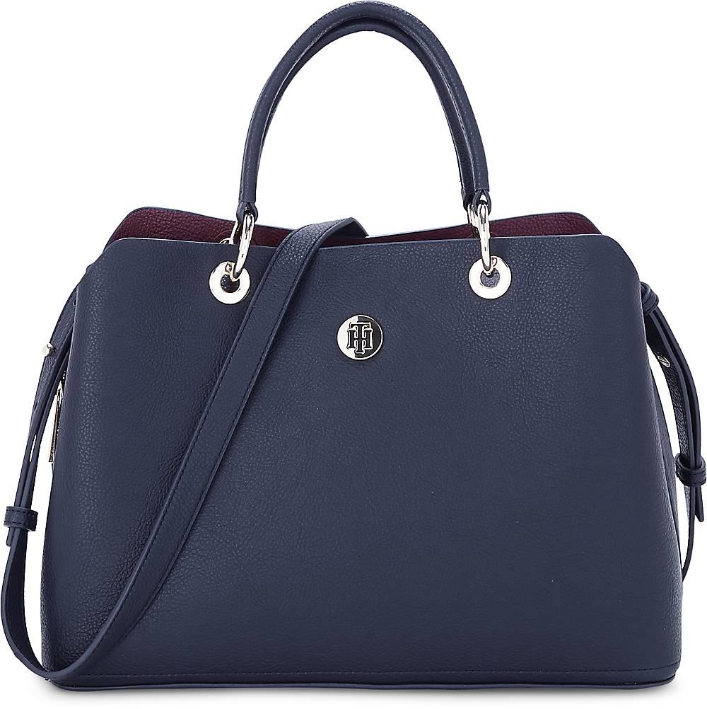 Tasche Core Satchel von Tommy Hilfiger in blau für Damen Preisvergleich