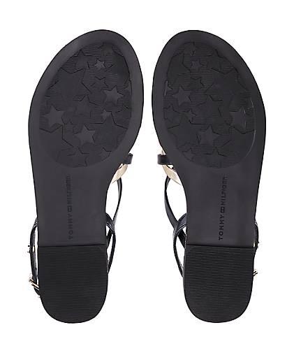 Tommy Hilfiger Trend-Sandalette in Qualität blau-dunkel kaufen - 47065401 GÖRTZ Gute Qualität in beliebte Schuhe f499b6