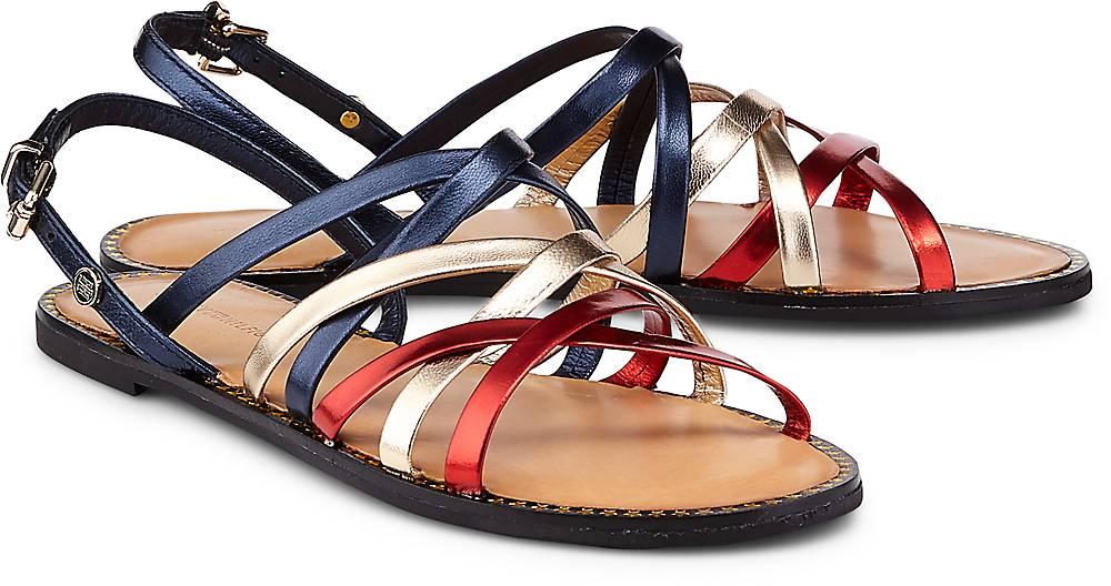 Trend-Sandalette von Tommy Hilfiger in blau für Damen. Gr. 37,38,39,40 Preisvergleich