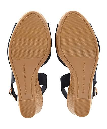 Tommy GÖRTZ Hilfiger Wedges in blau-dunkel kaufen - 47059601 | GÖRTZ Tommy Gute Qualität beliebte Schuhe 620a01
