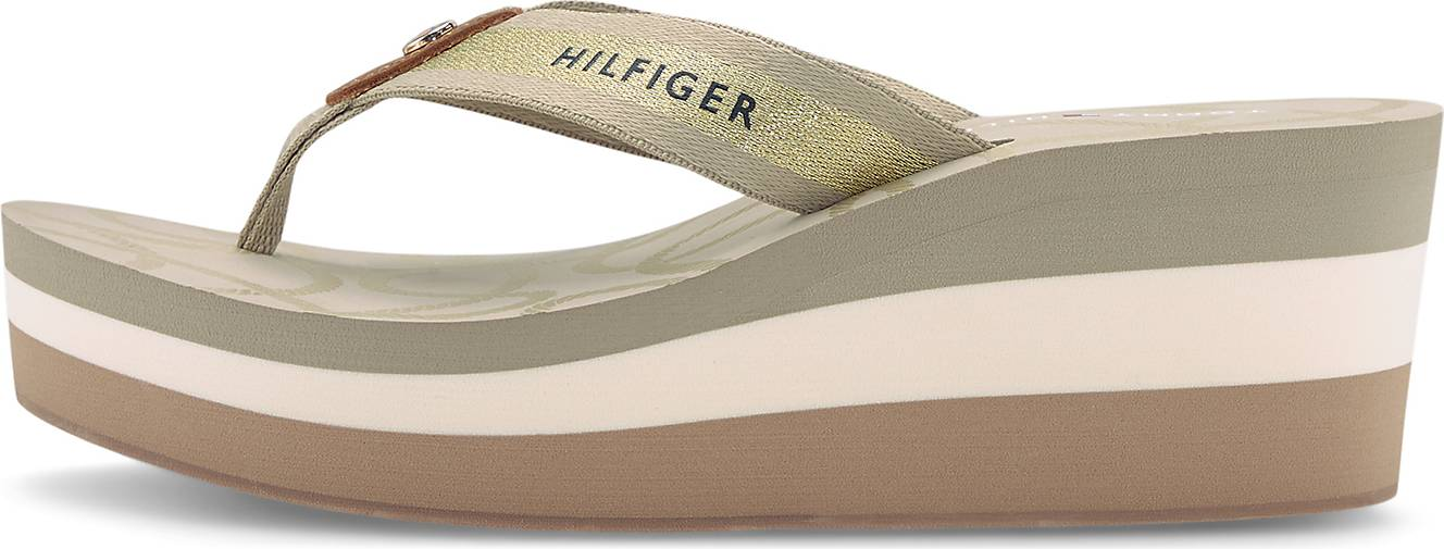 Tommy Hilfiger Zehentrenner-Wedges NAUTICAL HIGH BEACH