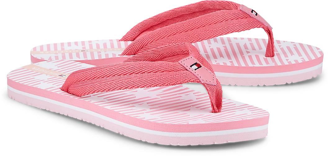 Tommy Hilfiger Zehentrenner in rosa kaufen - 48374201  4ec4f143363