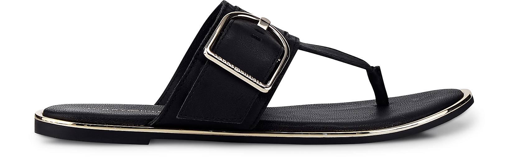 Tommy Hilfiger - Zehentrenner in schwarz kaufen - Hilfiger 47063201 GÖRTZ Gute Qualität beliebte Schuhe 798208