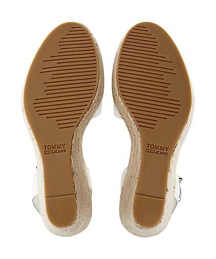 61201dcd8012 ... Tommy Jeans Bast-Sandalette in weiß GÖRTZ kaufen - 47070901   GÖRTZ  weiß Gute Qualität