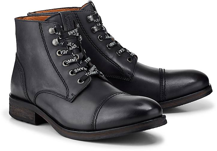 Tommy Jeans Boots DRESSY LEATHER