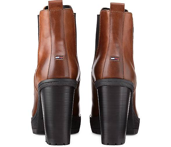 Tommy Jeans Chelsea-Stiefelette Chelsea-Stiefelette Chelsea-Stiefelette in braun-dunkel kaufen - 47581701 | GÖRTZ Gute Qualität beliebte Schuhe 791217