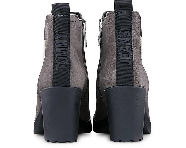 Tommy Jeans Chelsea-Stiefelette in | grau-dunkel kaufen - 47580601 | in GÖRTZ Gute Qualität beliebte Schuhe 2aaa2e