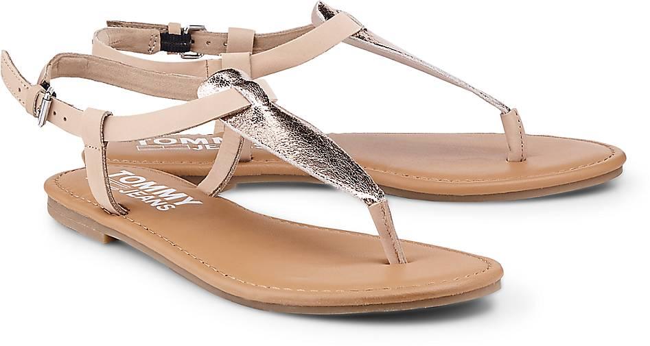 Tommy Jeans Metallic-Sandalette