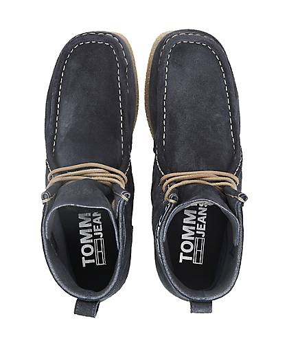 Tommy Jeans Mokassin-Stiefelette in blau-dunkel GÖRTZ kaufen - 47589702 | GÖRTZ blau-dunkel dc873f