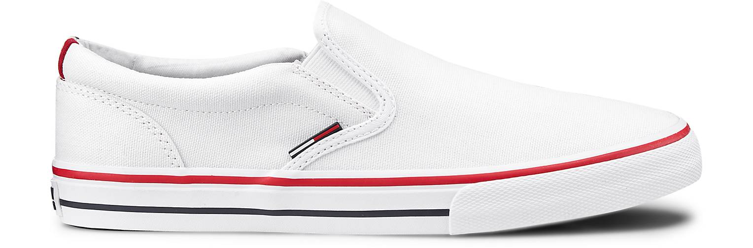 Tommy Jeans Slip-On-Sneaker in | weiß kaufen - 47083303 | in GÖRTZ Gute Qualität beliebte Schuhe 3d749c