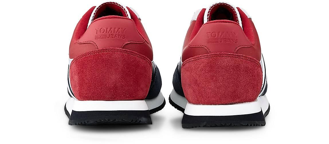 Tommy Jeans Sneaker CASUAL RETRO in rot kaufen Gute - 47624501   GÖRTZ Gute kaufen Qualität beliebte Schuhe 42f600