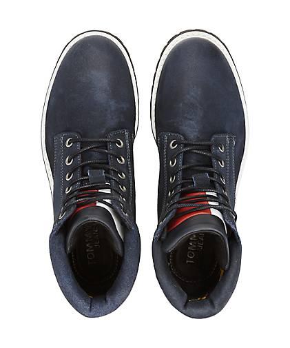 Tommy Jeans - Trend-Schnürer in blau-dunkel kaufen - Jeans 47624201 | GÖRTZ Gute Qualität beliebte Schuhe 629389