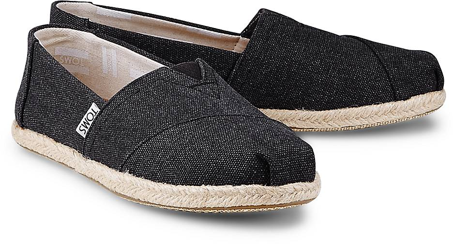 toms espadrille alpargata in schwarz kaufen 46266202 g rtz. Black Bedroom Furniture Sets. Home Design Ideas