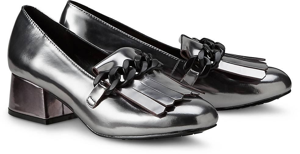 Tosca Blu Shoes Metallic-Pumps VIOLET
