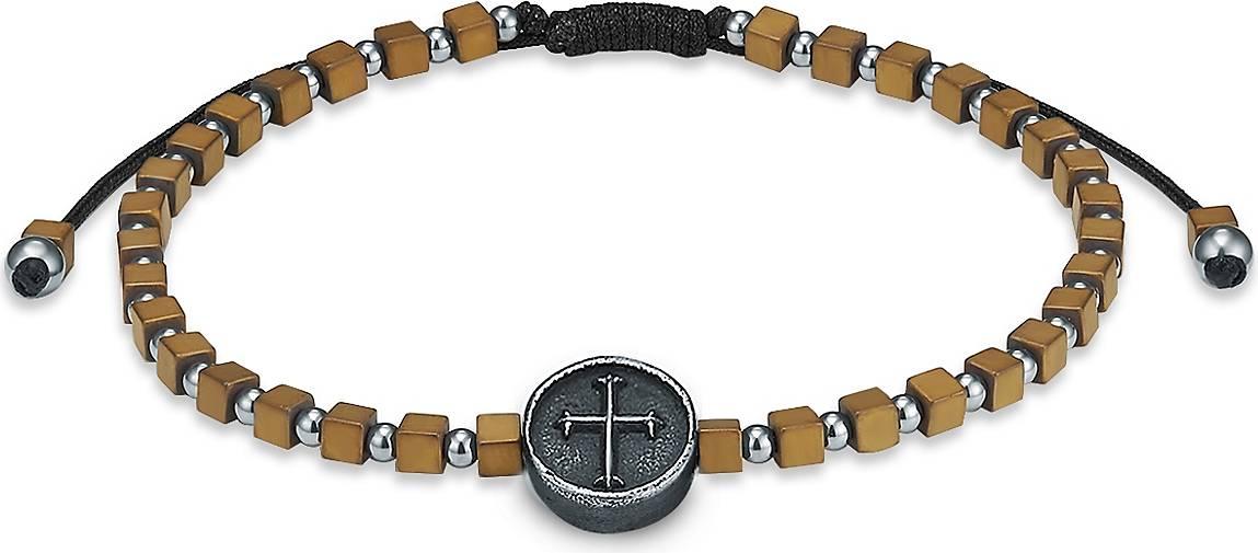 True Rebels Armband Kreuz