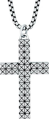 True Rebels Halskette Kreuz