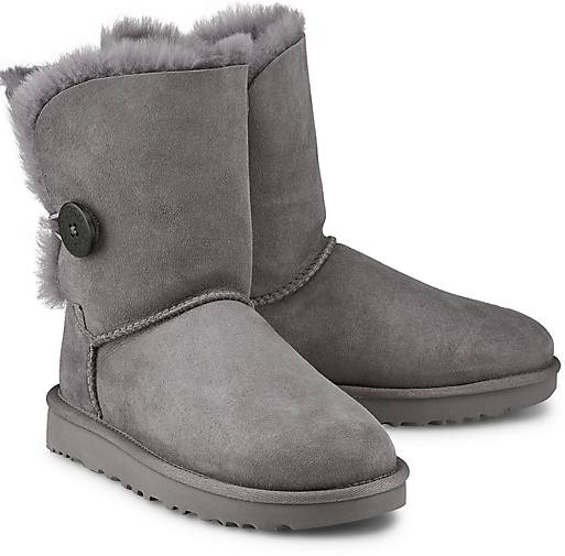 ugg grau bailey button