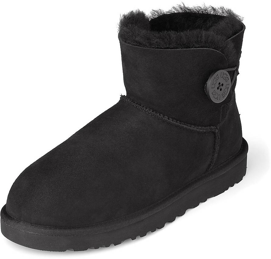 ugg boots bailey button schwarz 40 chillco ugg boots bailey. Black Bedroom Furniture Sets. Home Design Ideas