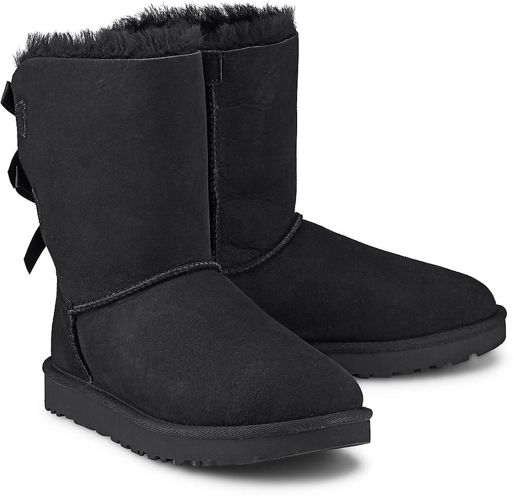 Boots Bailey Bow Ii von UGG in schwarz für Damen. Gr. 36,37,38,39,40,41,42