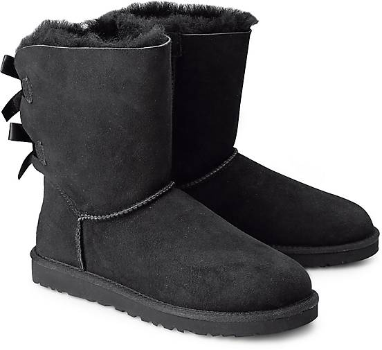 ugg boots bailey bow winter boots schwarz g rtz. Black Bedroom Furniture Sets. Home Design Ideas