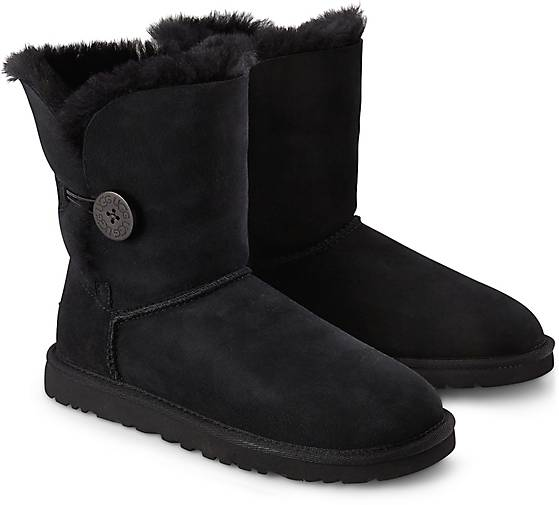 ugg boots schwarz bailey button
