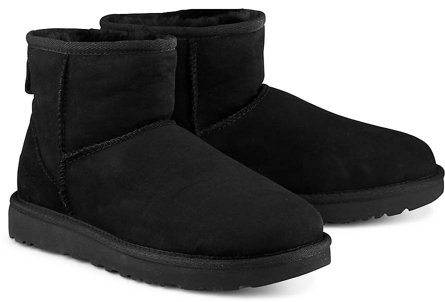 ugg boots classic mini schwarz. Black Bedroom Furniture Sets. Home Design Ideas