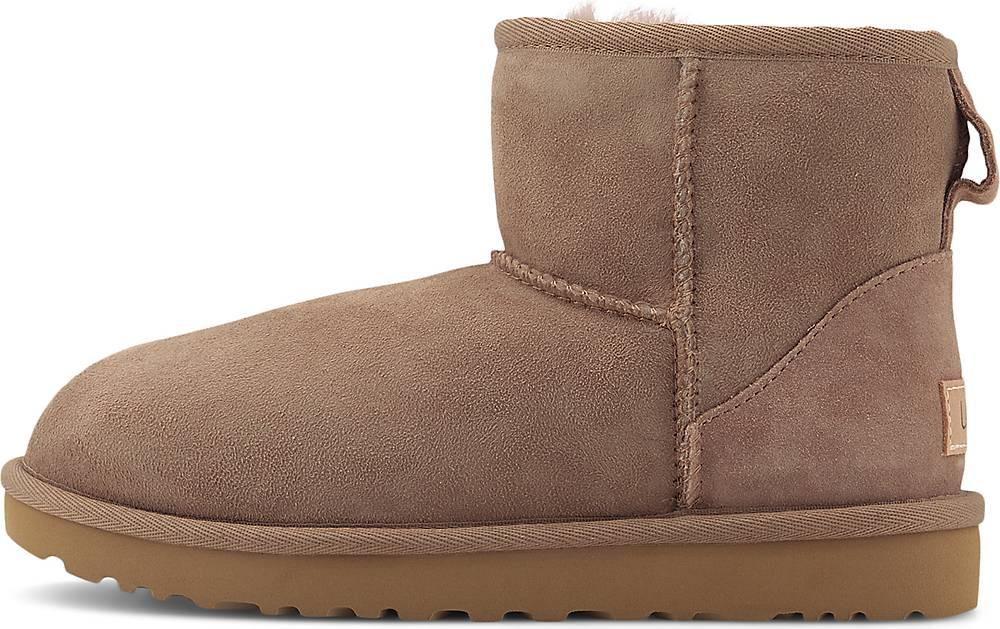 UGG  Boots Classic Mini Ii in taupe  Stiefel für Damen   Schuhe > Stiefeletten   Ugg