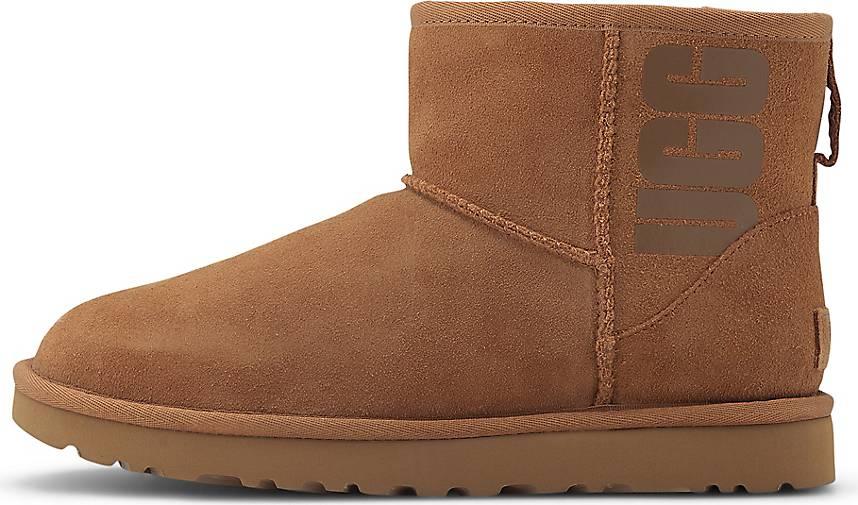UGG Boots CLASSIC MINI RUBBER LOGO