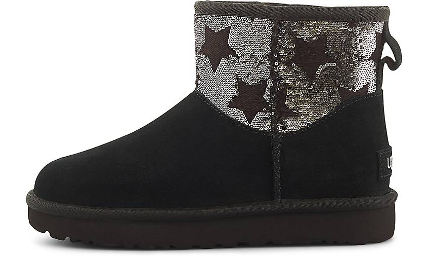 UGG Boots CLASSIC MINI SEQUIN STARS