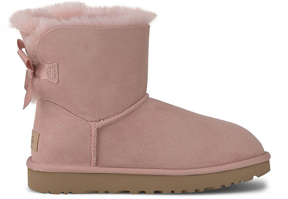 Ugg Boots Mini Bailey Bow Ii In Rosa Kaufen Winter-boots