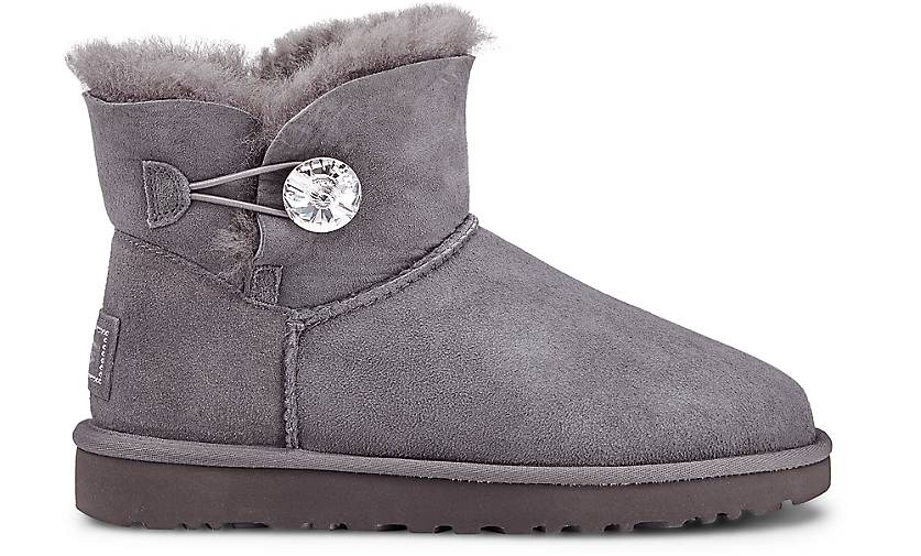 uggs bailey button grey eu 39 galvins com au uggs. Black Bedroom Furniture Sets. Home Design Ideas