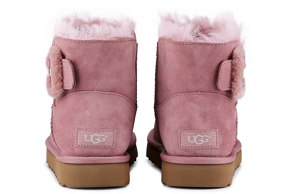 Ugg Mini Bailey Fluff In Rosa Kaufen Winterstiefel Winter-boots