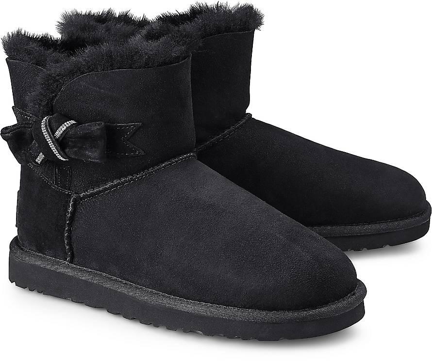 Winter Boots JACKEE von UGG in schwarz für Damen. Gr. 36,37,38,39,40,41