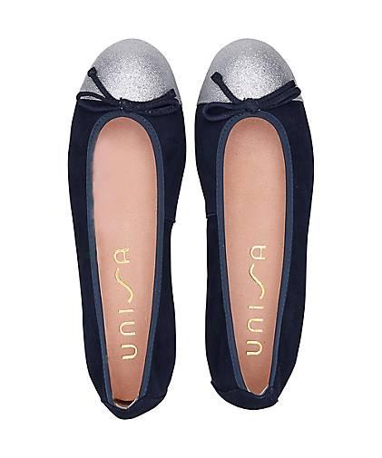 Unisa Klassik-Ballerina in in in blau-dunkel kaufen - 47238301 GÖRTZ Gute Qualität beliebte Schuhe 3e2cda