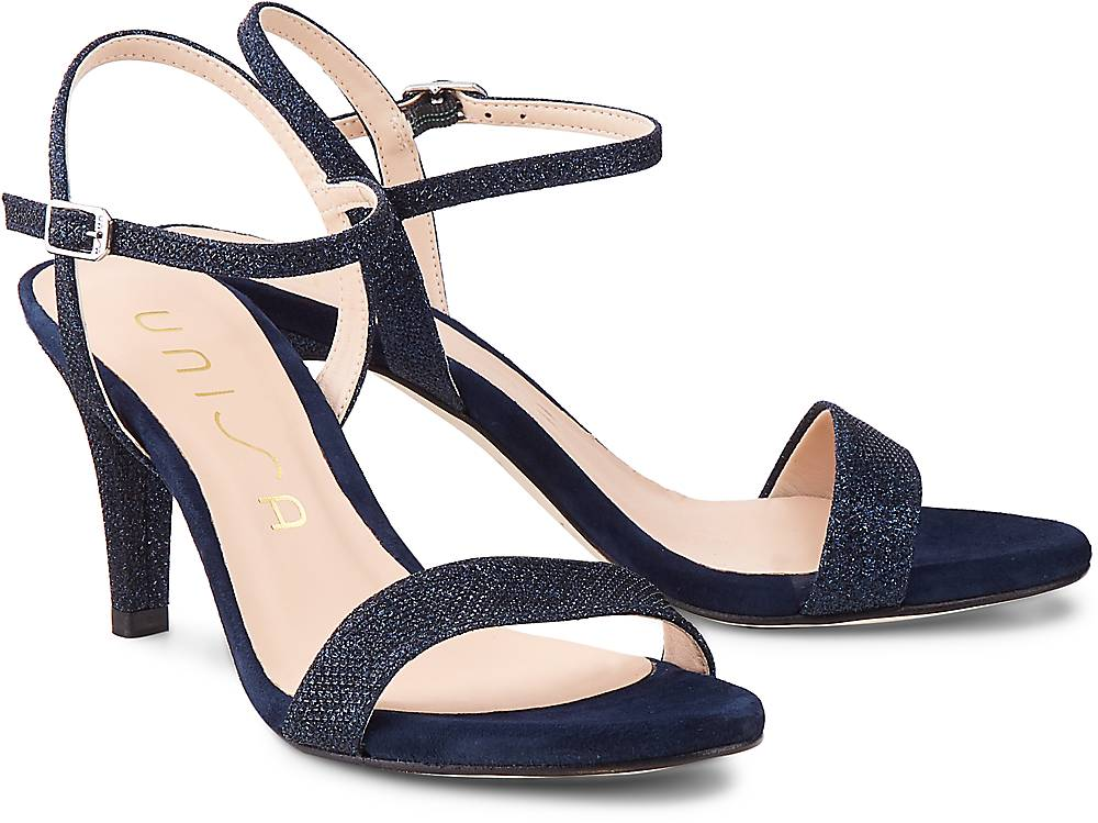 Sandalette Olea von Unisa in blau für Damen. Gr. 36,37,38,39,40,41,42 Preisvergleich