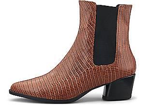 Vagabond, Chelsea-Stiefelette Lara in mittelbraun, Boots für Damen