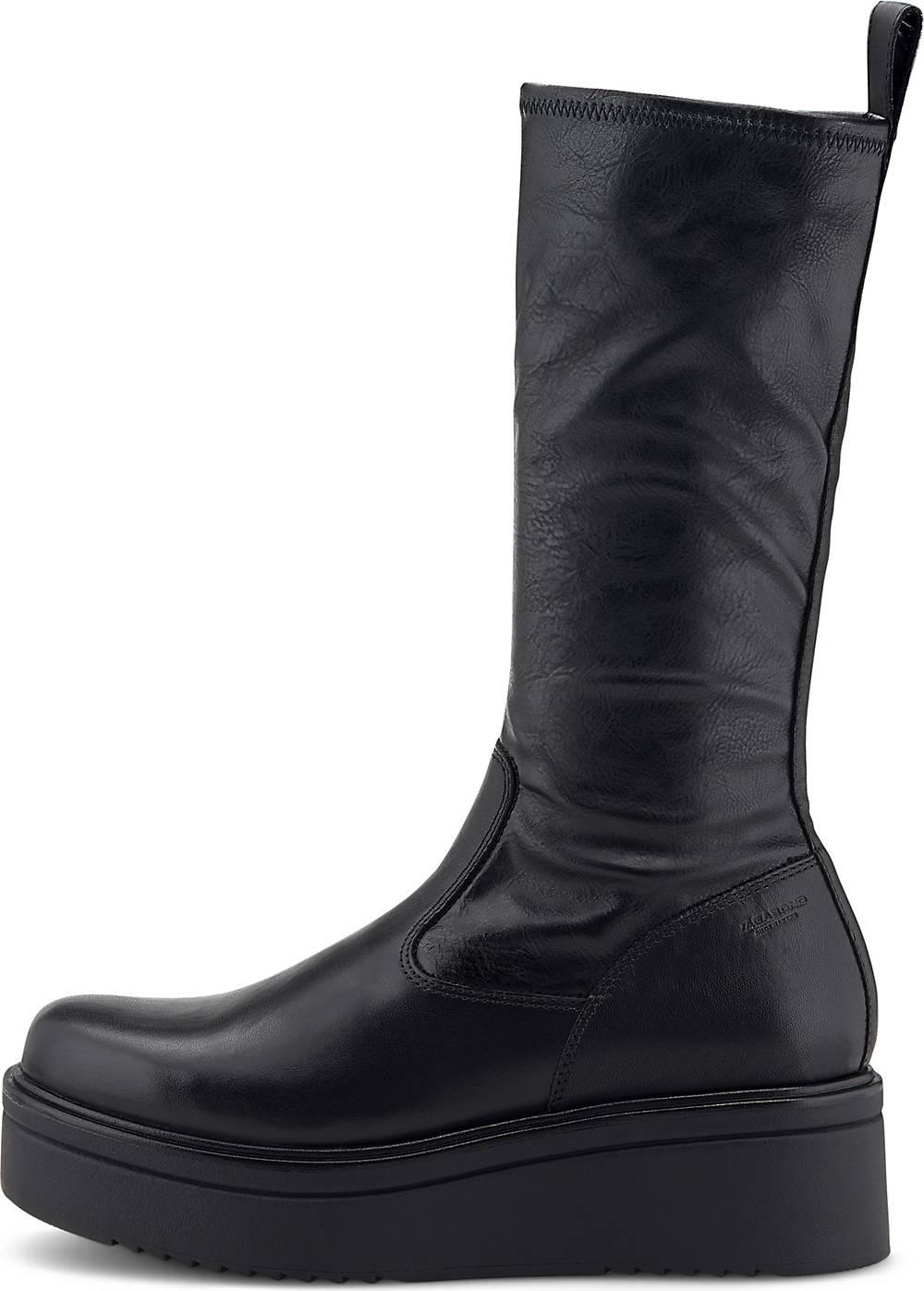 Vagabond| Plateau-Stiefel Tara in schwarz| Stiefel für Damen | Schuhe > Stiefel | Vagabond
