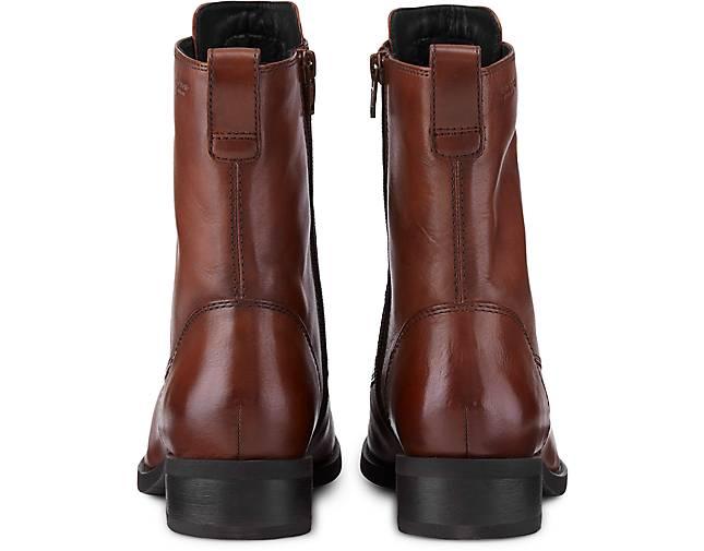 Damen Henna boots Braun mittel Schnür CCSvqwX